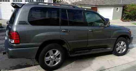 2007 lexus lx470 for sale by owner purchase used 2007 lexus lx 470 limited fully loaded