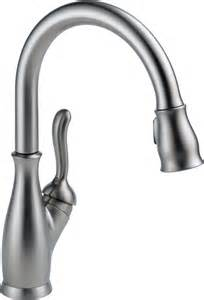 Single Handle Pulldown Kitchen Faucet by Delta Faucet 9178 Rb Dst Leland Single Handle Pull Down