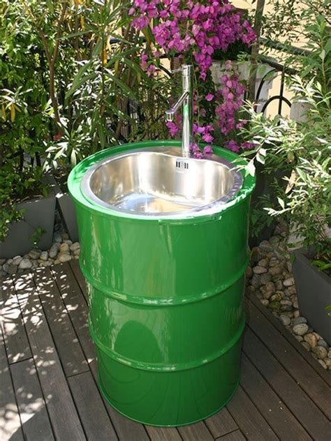 Patio Sink Ideas by Home Dzine Craft Ideas Practical Ways To Recycle