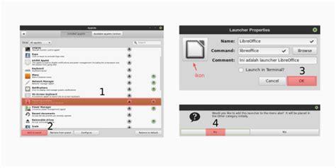 membuat aplikasi android di linux ubuntu cara membuat launcher aplikasi di linux mint ubuntu dan