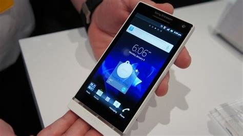 sony ericsson brand new sony xperia s smartphone