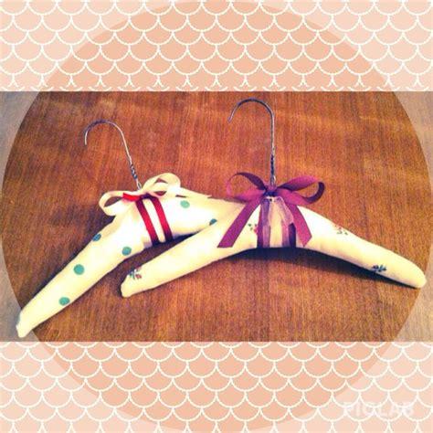 Handmade Hangers - padded coat hangers handmade by me xx handmade by