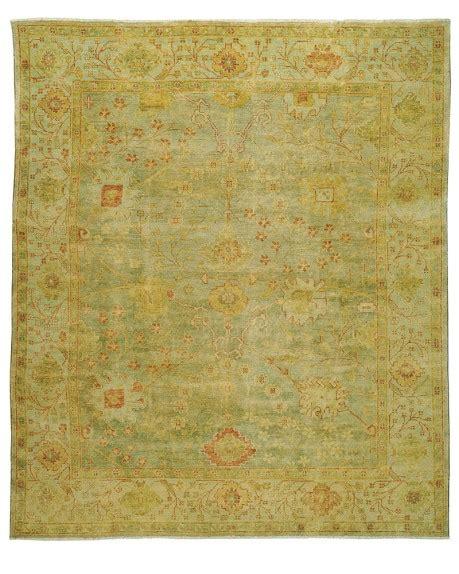 william sonoma rugs green oushak rug williams sonoma