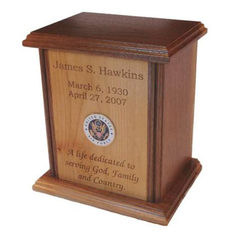 Handcrafted Urns - human cremation urns beautifully handcrafted and laser