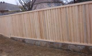 cinder block retaining wall with fence on top remarkable ideas cement block retaining wall