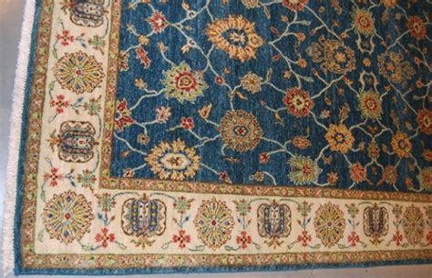 Teal Area Rug 5x8 5x8 Teal Blue Peshawar Woven Rug Wool
