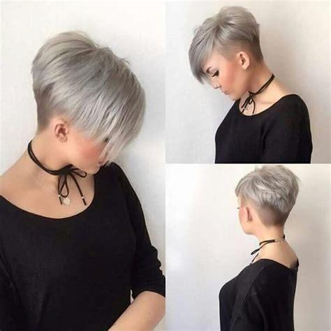 Style De Cheveux Femme by 15x Styles De Cheveux Courts Gris Coupe Courte Femme