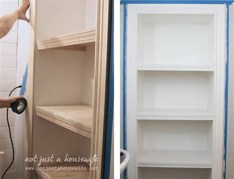 Bathroom Built In Shelves Bathroom Shelves Not Just A