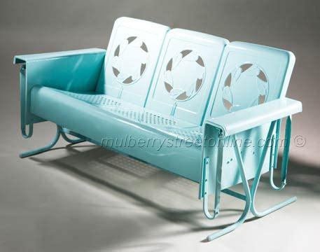 Vintage Lawn Furniture by Vintage Metal Furniture Vintage Porch Furniture