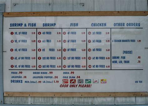 boat n net on doddridge boat n net menu