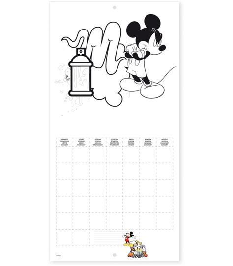2018 mickey mouse wall calendar mead mickey mouse 2016 wall calendar calendar template 2016
