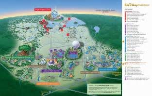 disney hotels florida map map of walt disney world resort wdwinfo