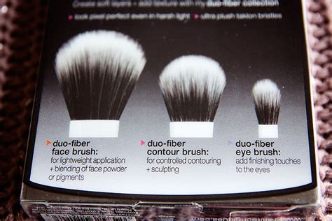 Real Techniques Duo Fiber Collection Limited Edition real techniques make up brush set duo fiber collection ebay