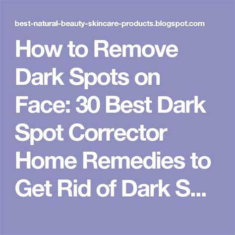 Five Tips On How To Get Rid Of Eye Circles And Puffiness by 17 Best Ideas About Spot Remover On