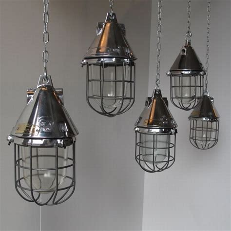 Caged Pendant Light Conical Caged Industrial Pendant Lights