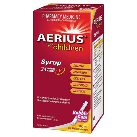 Aerius Syrup buy aerius syrup 100ml at chemist warehouse 174