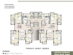floor plan unique harmony apartments jaipur residential apartment block floor plans best home design 2018