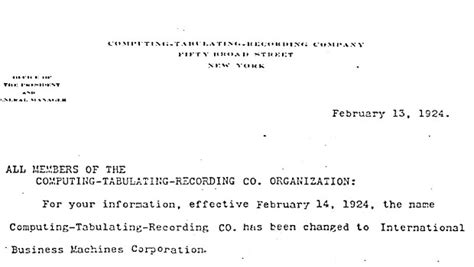 Bank Merger Letter To Customers Ibm100 Ibm Is Founded