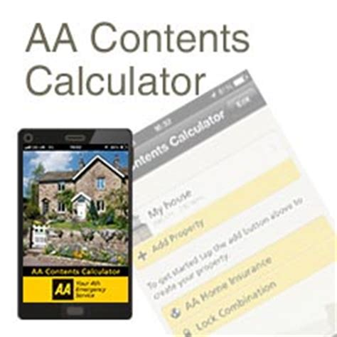 house contents insurance calculator home insurance quote house and contents insurance aa