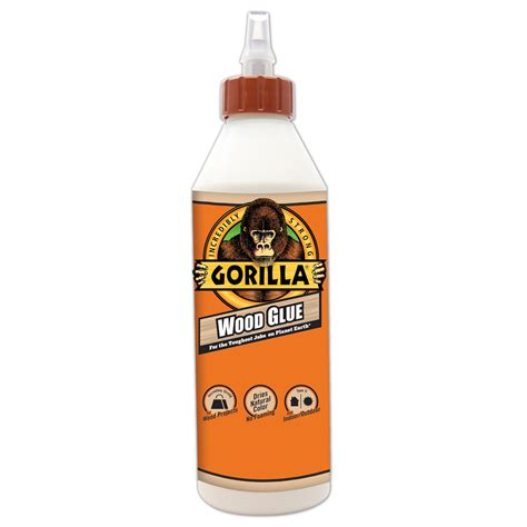 woodworking glues 18 oz gorilla wood glue