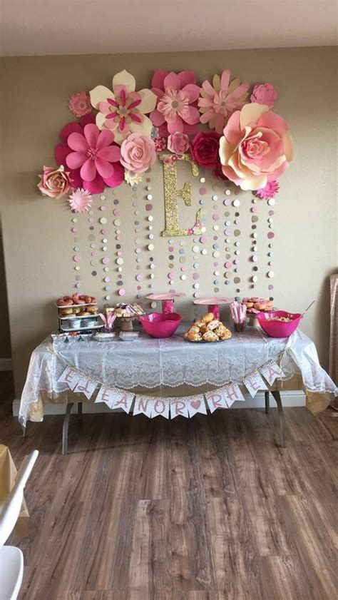 Ideas For Baby Shower by Pink And Gold Baby Shower Ideas Gold Baby Showers