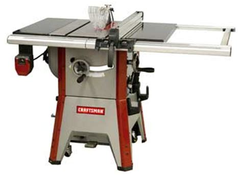 craftsman professional  contractor table