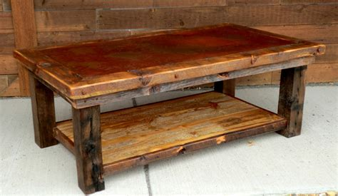 Rustic Furniture Portfolio   Rustic   Coffee Tables   other metro   by Rory's Rustic Furniture