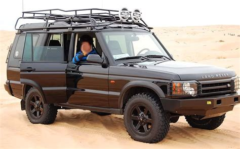 land rover safari roof front view of a 2004 discovery fitted with the land rover