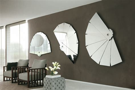 home decorating mirrors the idea of stylish modern wall mirror from porada motiq