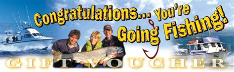 buy a gift boat trip gift voucher melbourne fishing charters