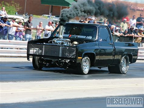 trucks drag racing 1204dp 10 wild ride front drivers side at the dragstrip