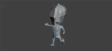 blender tutorial low poly character blender low poly character creation rigging blendernation