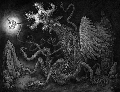 elder thing by rode egel on deviantart