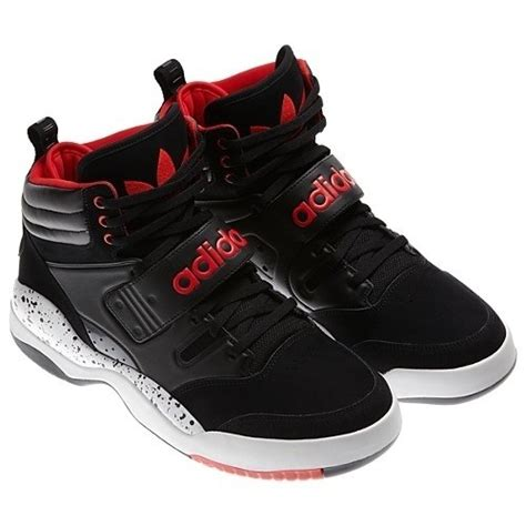 adidas retro basketball shoes adidas black mens hackmore retro basketball shoes g59953