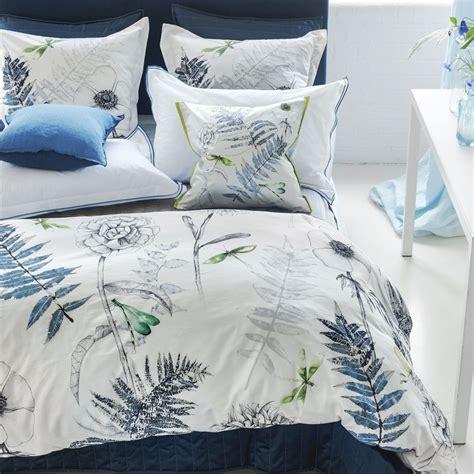 indigo bedding acanthus indigo by designers guild bedding