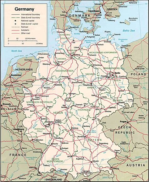 europe germany map maps update 500621 germany travel map germany
