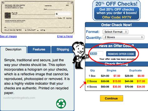 Background Check For Offer 7 Checks Unlimited Coupons New Offer Codes For A 68 Discount Custom Printing Deals