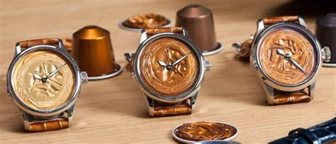 Plastic Upcycling - blancier grand cru watch with nespresso capsule dial ablogtowatch