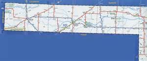 map of the panhandle odot 2007 highway map oklahoma panhandle