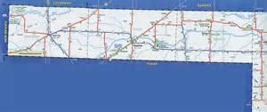 panhandle map of cities odot 2007 highway map oklahoma panhandle