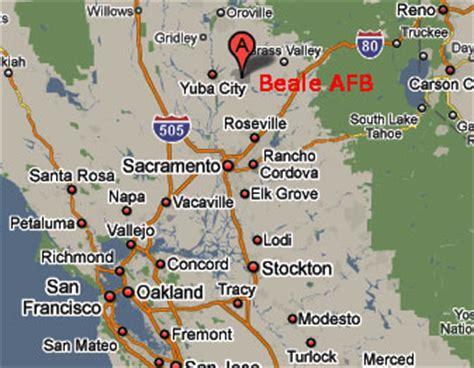 us bases california map air bases in california map