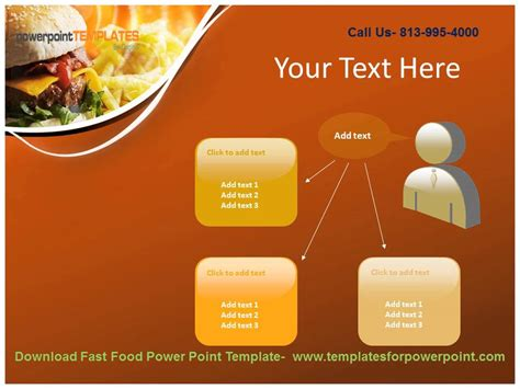 Downaload Fast Food Powerpoint Template Youtube Fast Food Powerpoint Template