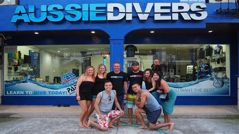 dive shop find our dive shops in phuket aussie divers idc phuket