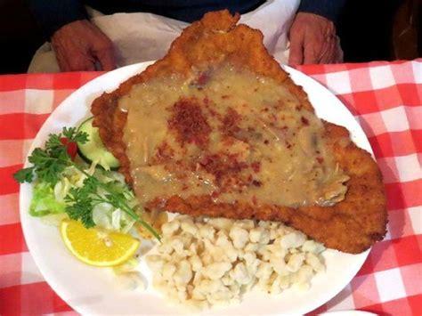 schnitzel house ormond bavarian chicken schnitzel with german potato salad