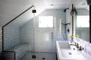 Use the attic in a small bathroom   Interior Design Ideas   Ofdesign