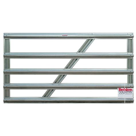 farmaster utility 8 ft x 5 in 5 panel galvanized gate