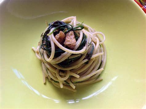 agretti come cucinarli spaghetti con agretti cotto e postato