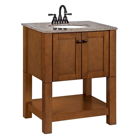 27 Vanity Top by Palisades 27 In W Bath Vanity In Bourbon Cherry With