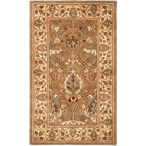 Safavieh Persian Legend Light Green Beige 3 Ft X 5 Ft 3 Foot Area Rugs