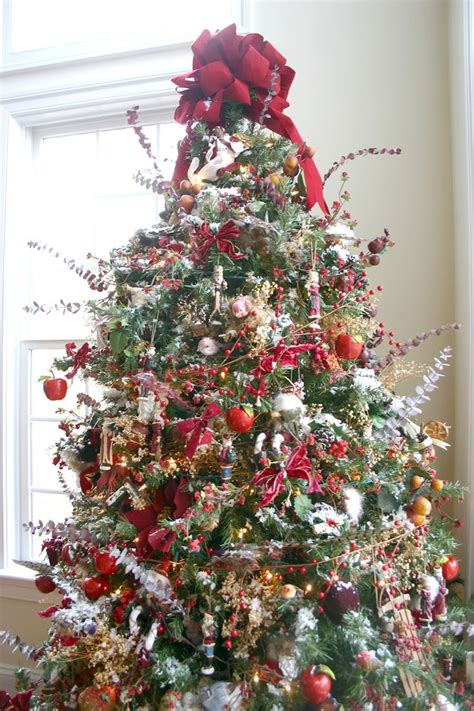 woodland christmas tree christmas pinterest